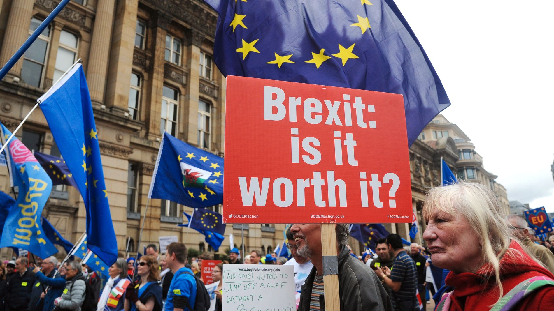 KOSTER: Brexit har kostet mye for britisk økonomi så langt, ifølge en fersk studie.