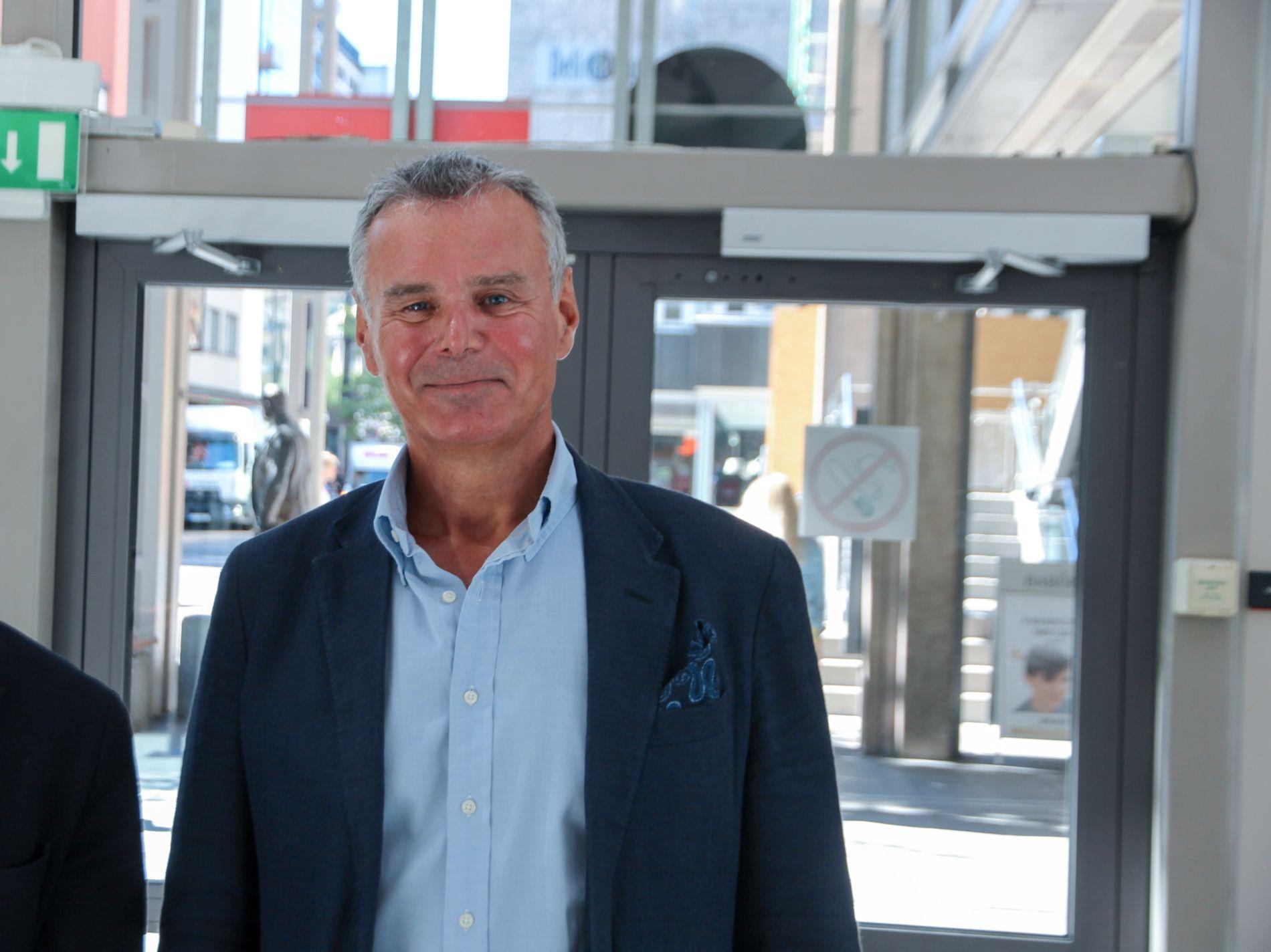 Flyanalytiker Hans Jørgen Elnæs i WinAir