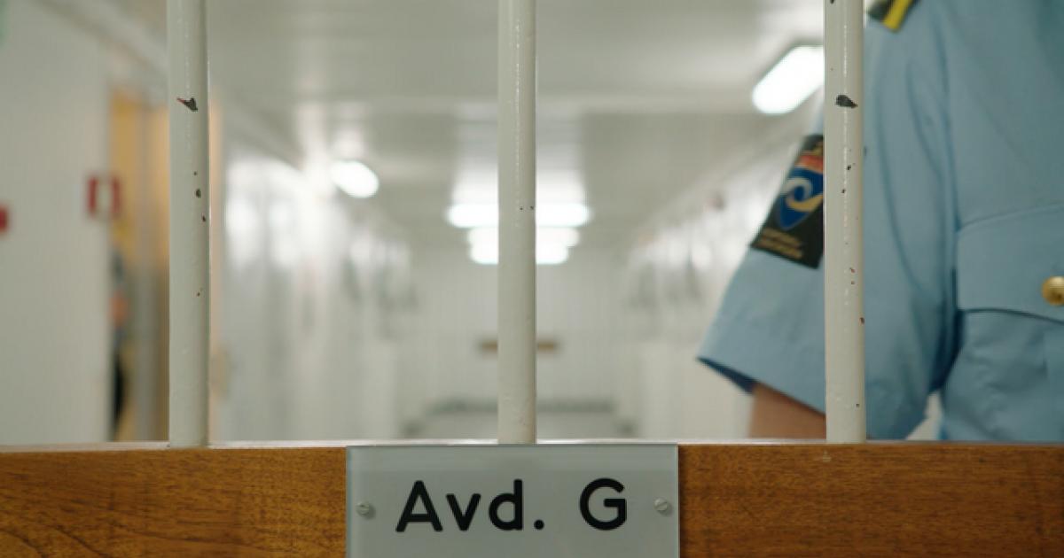 ISOLASJON: Brennpunkt-dokumentaren «Fengslet og forlatt» handler om kjelleren på Ila fengsel, der Norges sykeste og farligste innsatte soner. Isolert på cellen mesteparten av døgnet blir de sykere og farligere.