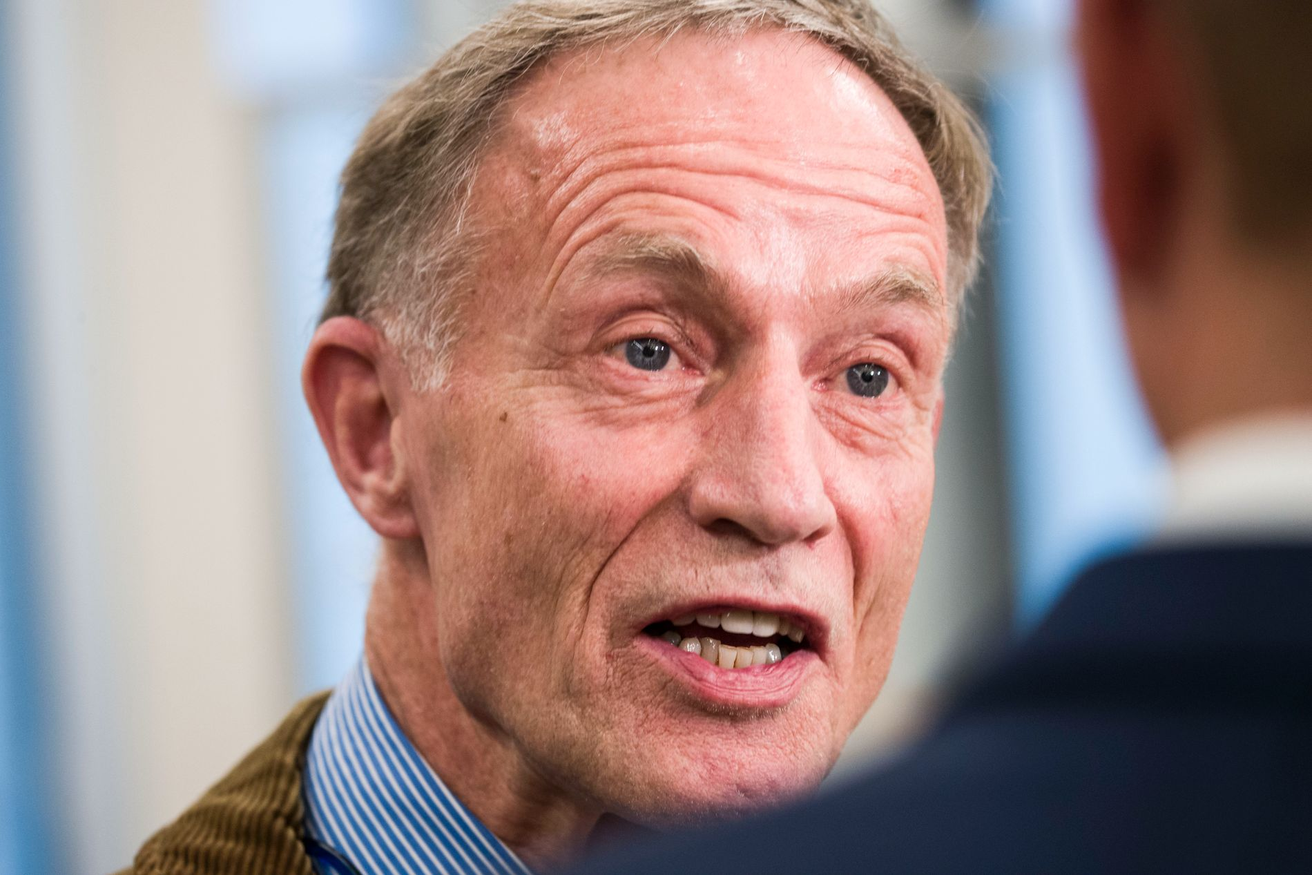 HADDE MØTE: Fredag fortalte riksadvokaten at han hadde et møte med Cappelens forsvarer Benedict de Vibe 13. januar 2014.
