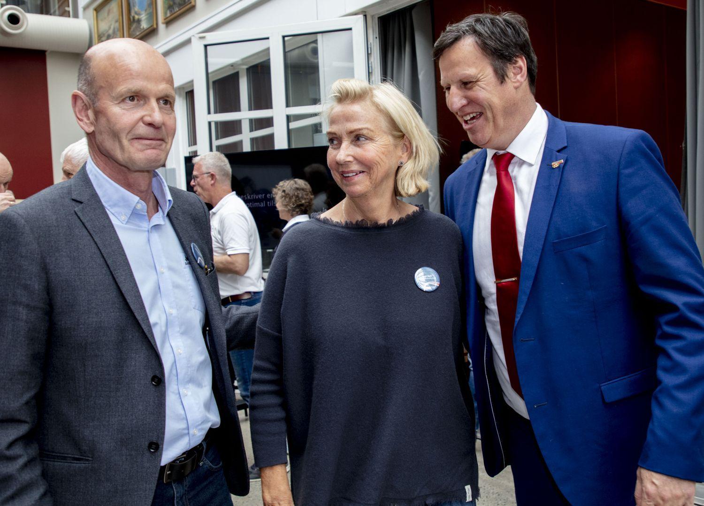 Tom Tvedt har tilgang til talerstolen på idrettstinget, det har ikke Sven Mollekleiv og Berit Kjøll.