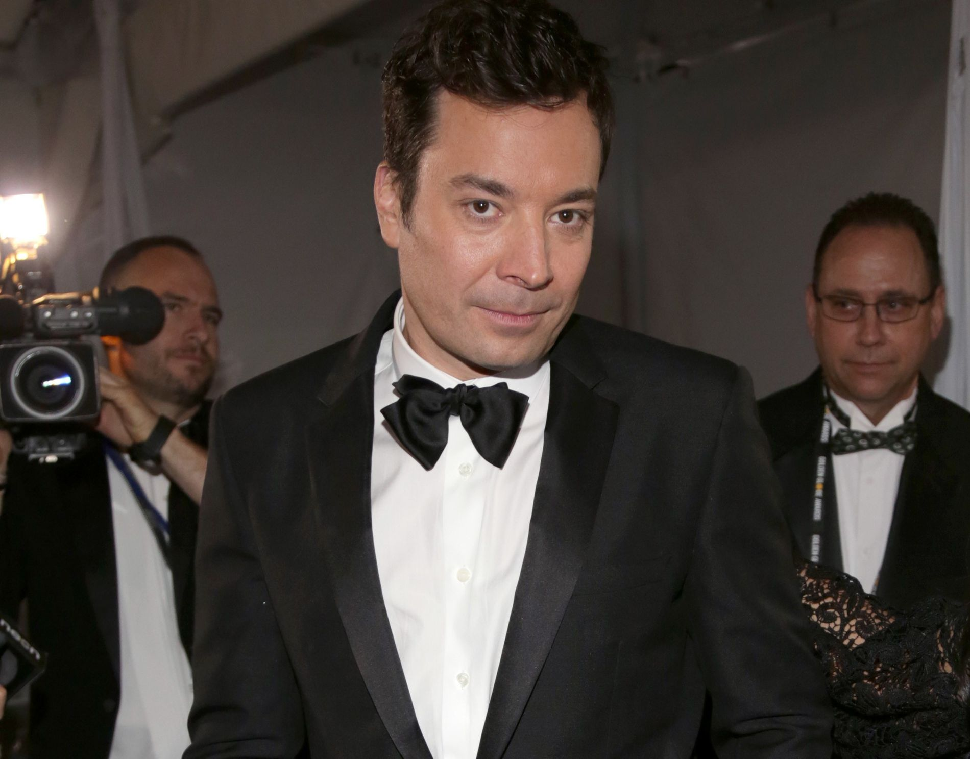 POPULÆR: Jimmy Fallon, her på Golden Globe Awards på nyåret.