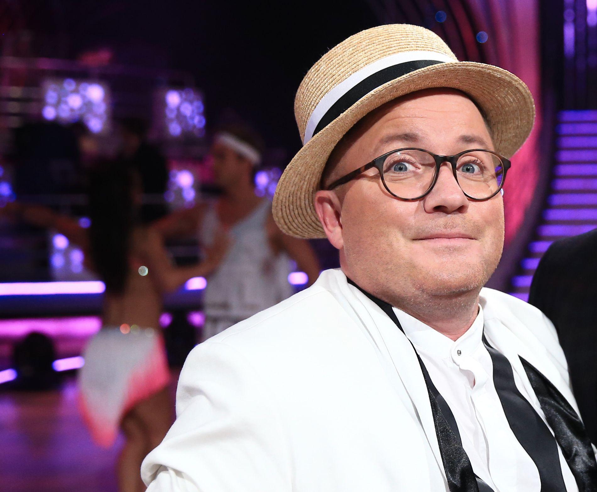 MGP-KJENDIS: Per Sundnes, her som Melodi Grand Prix-ekspert under «Skal vi danse» for halvannet år siden.