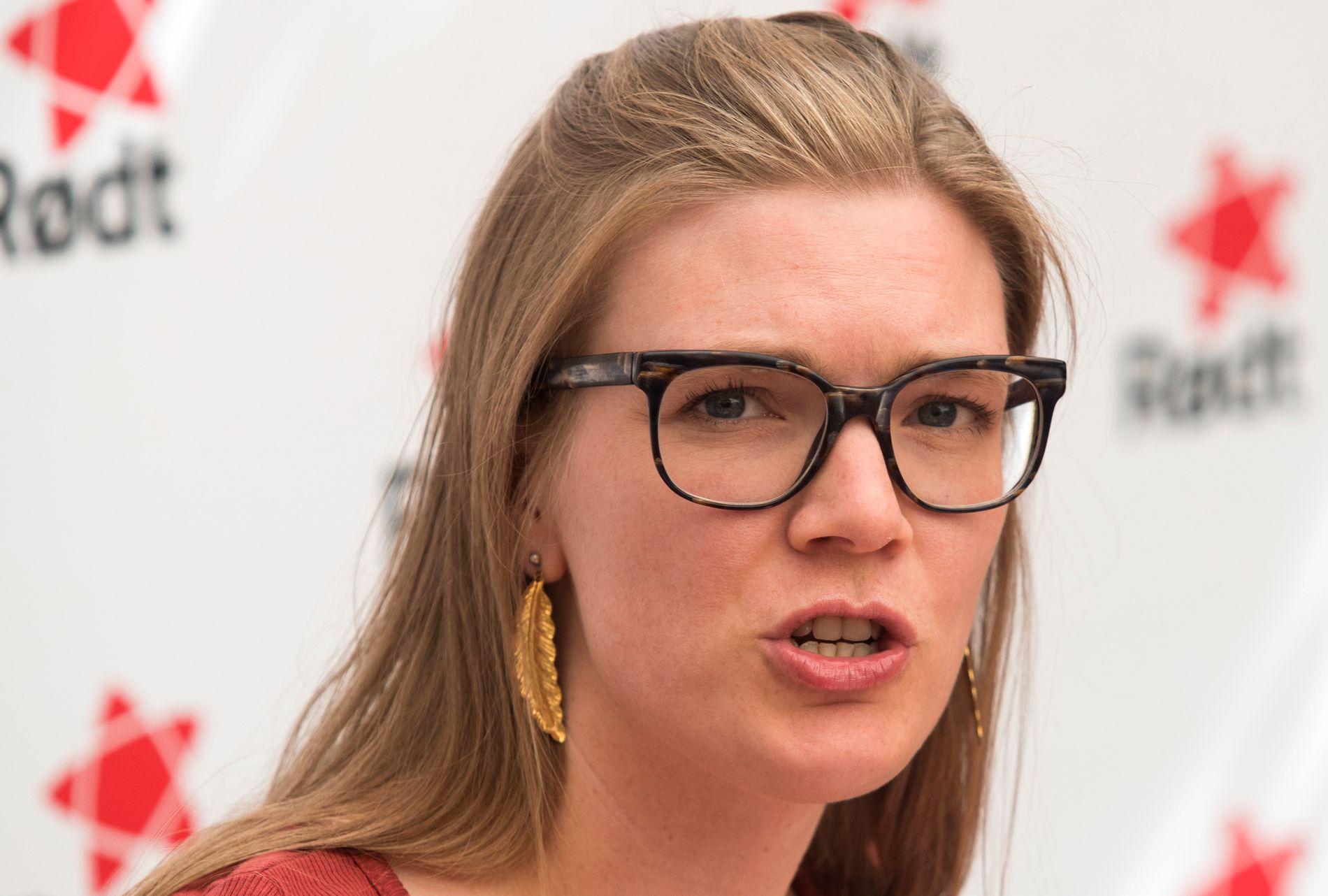 NESTLEDER: Marie Sneve Martinussen i Rødt.