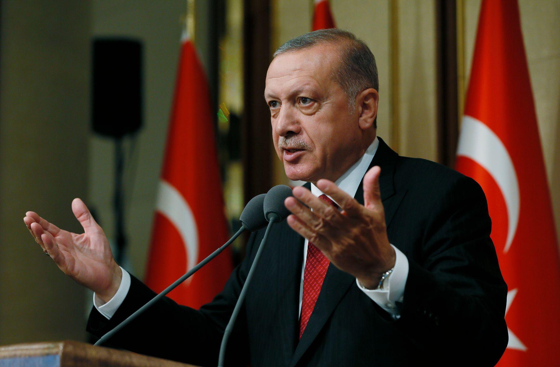AVSLUTTET UNNTAKSTILSTAND: Tyrkias president Recep Tayyip Erdogan går ikke inn for å forlenge Tyrkias unntakstilstand.