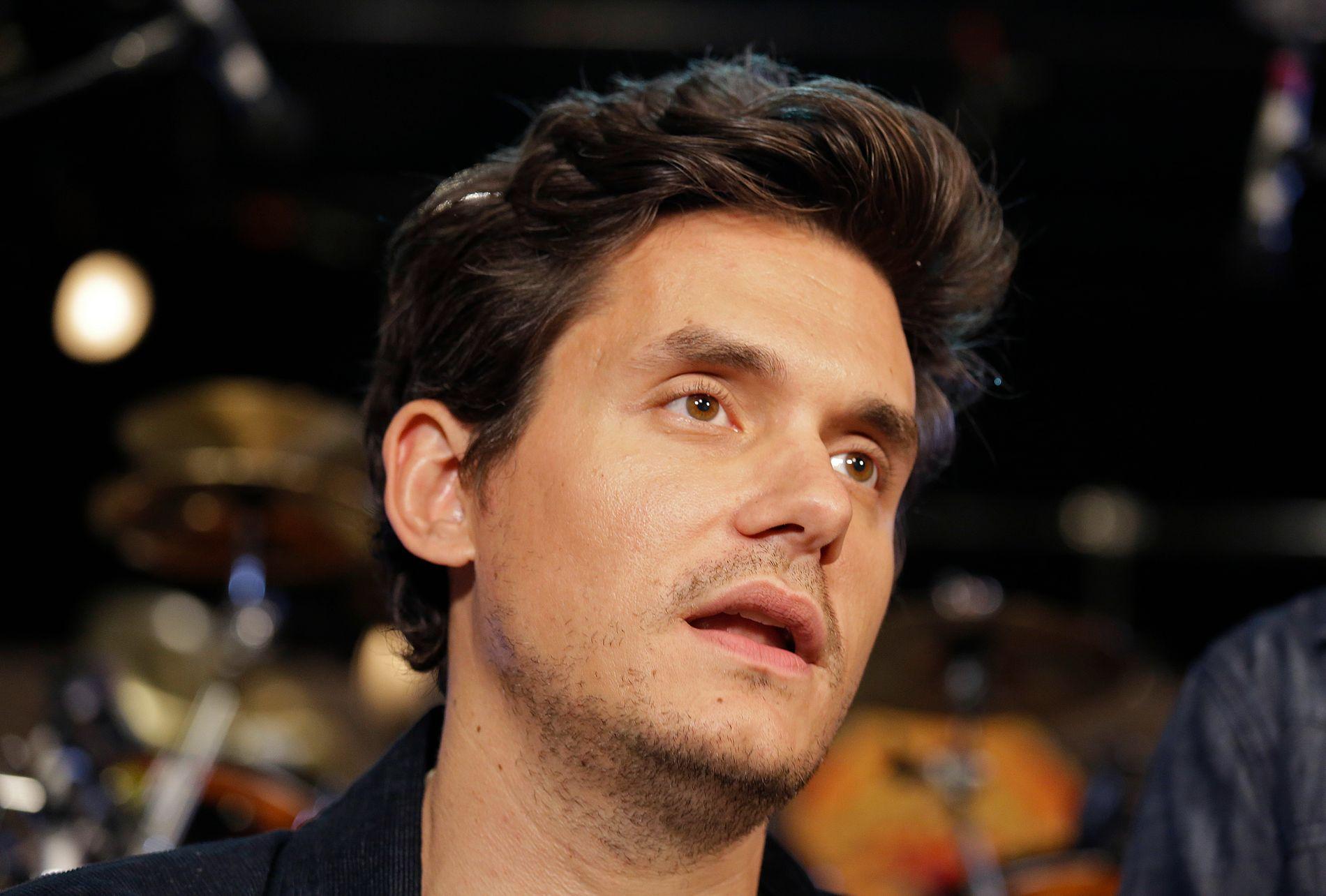 KJÆRESTE: John Mayer har tidligere vært sammen med Jennifer Aniston og Jessica Simpson.