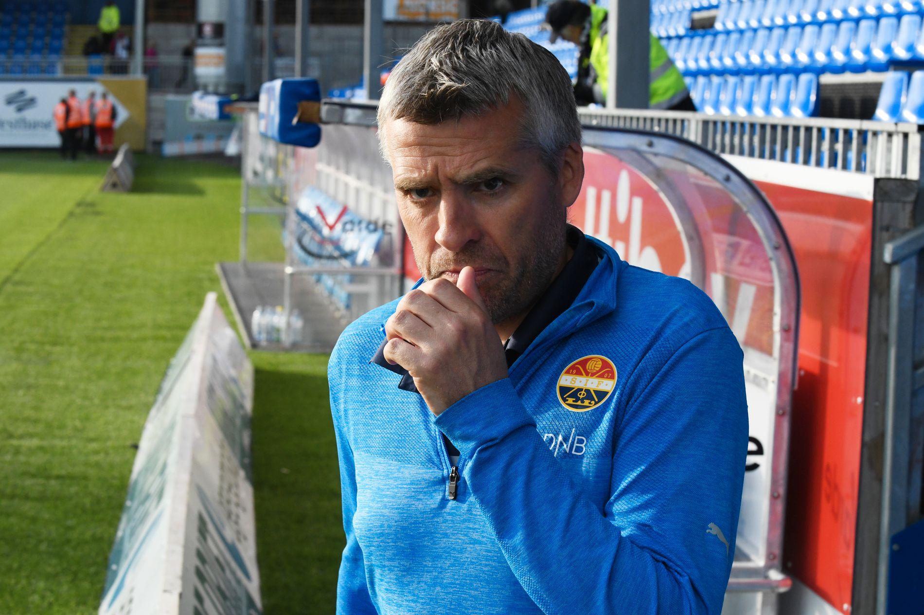 TAKKER FOR SEG: Tor Ole Skullerud valgte å trekke seg som Strømsgodset-trener onsdag kveld.