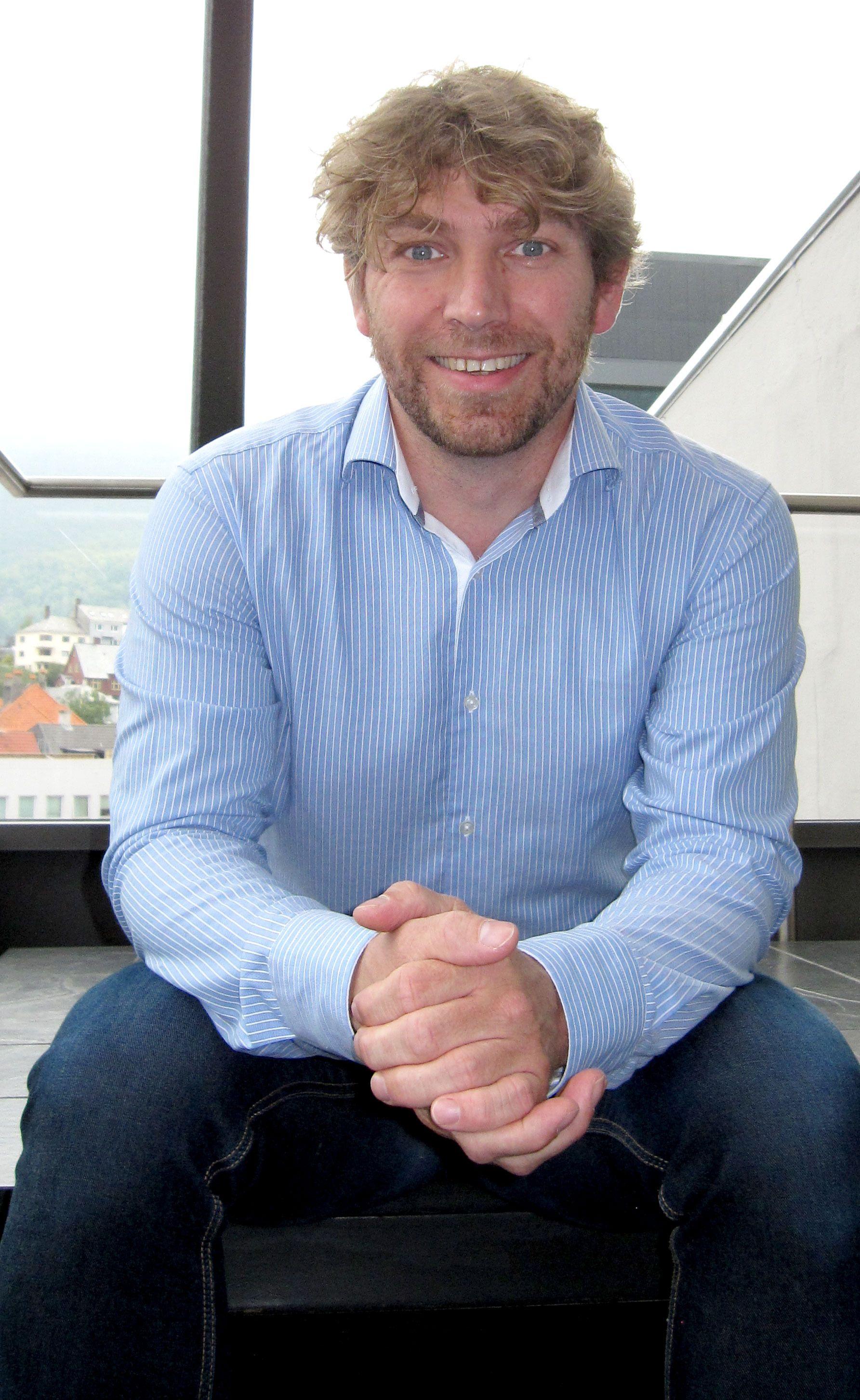 FORFREMMET: Halvveis i masteren fikk Dag Aksnes jobben som global leder for CRM-systemet til itslearning. Foto: Privat