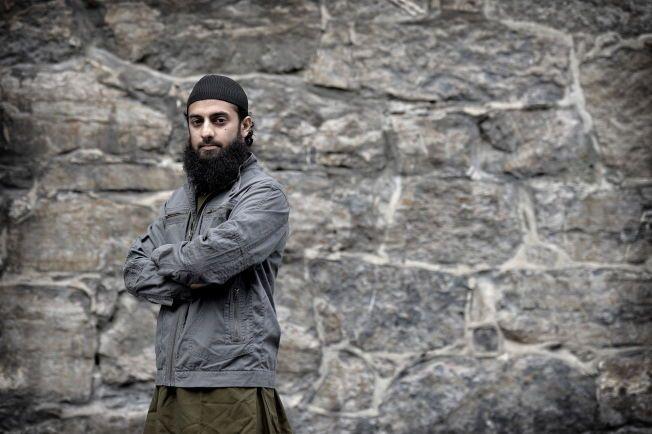 SKAPER AVSKY: Organisasjonen Profetens Ummah, her ved talsperson Ubaydullah Hussain, støtter drap og terror i Midtøsten.