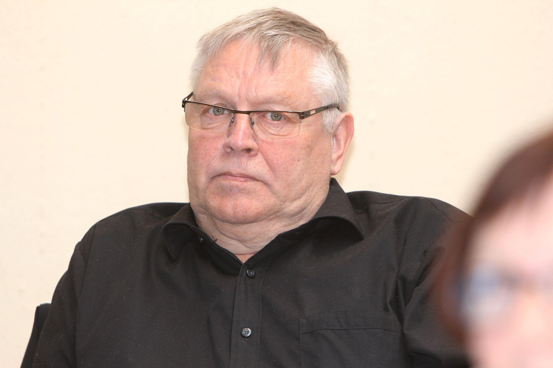 BLE BLOTTET: Hjertesyke Svein Berg (67) fra Alta