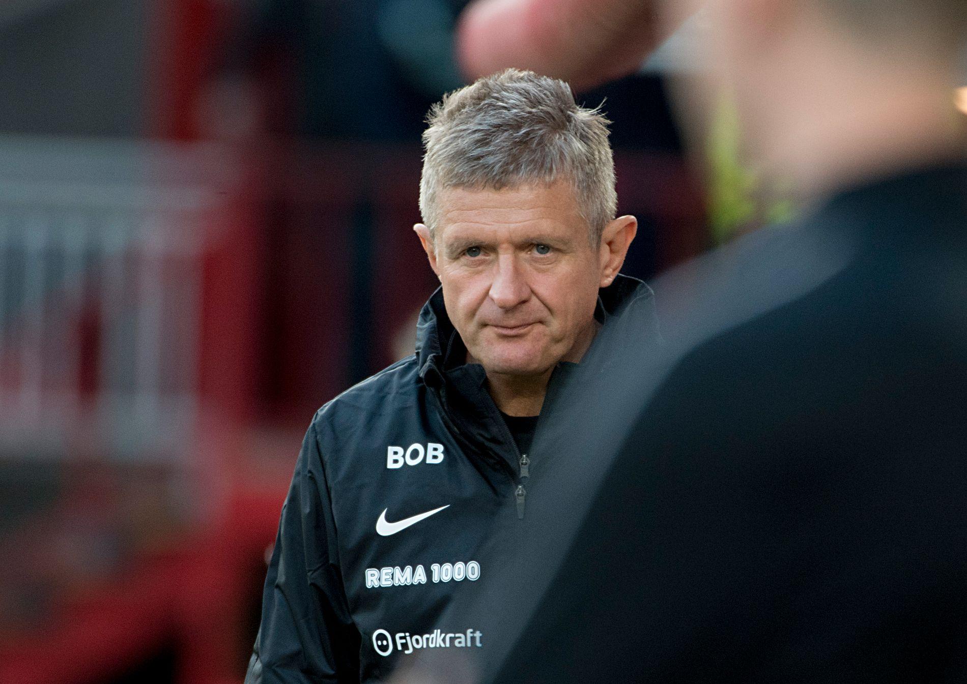 BENKET BAMBA: Brann-trener Lars Arne Nilsen har ikke startet med Daouda Bamba som spiss i de to første kampene i Eliteserien. Får han sjansen mot sine gamle lagkamerater i Kristiansund når de møtes onsdag denne uken?
