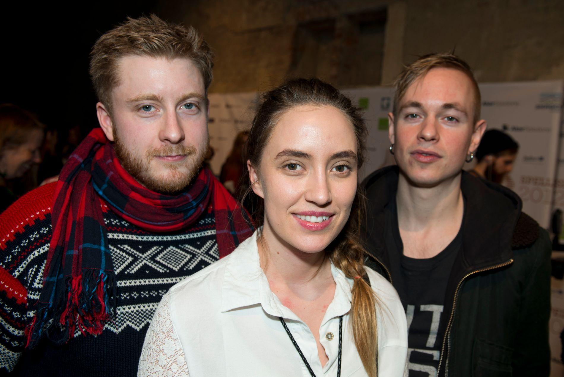 TIDLIG UTGAVE: Øystein Skar (t.v.) var den første som slo følge med Ingrid Helene Håvik og Trond Bersu i Highasakite, i 2011. Eberson og Lo ble med i 2012.