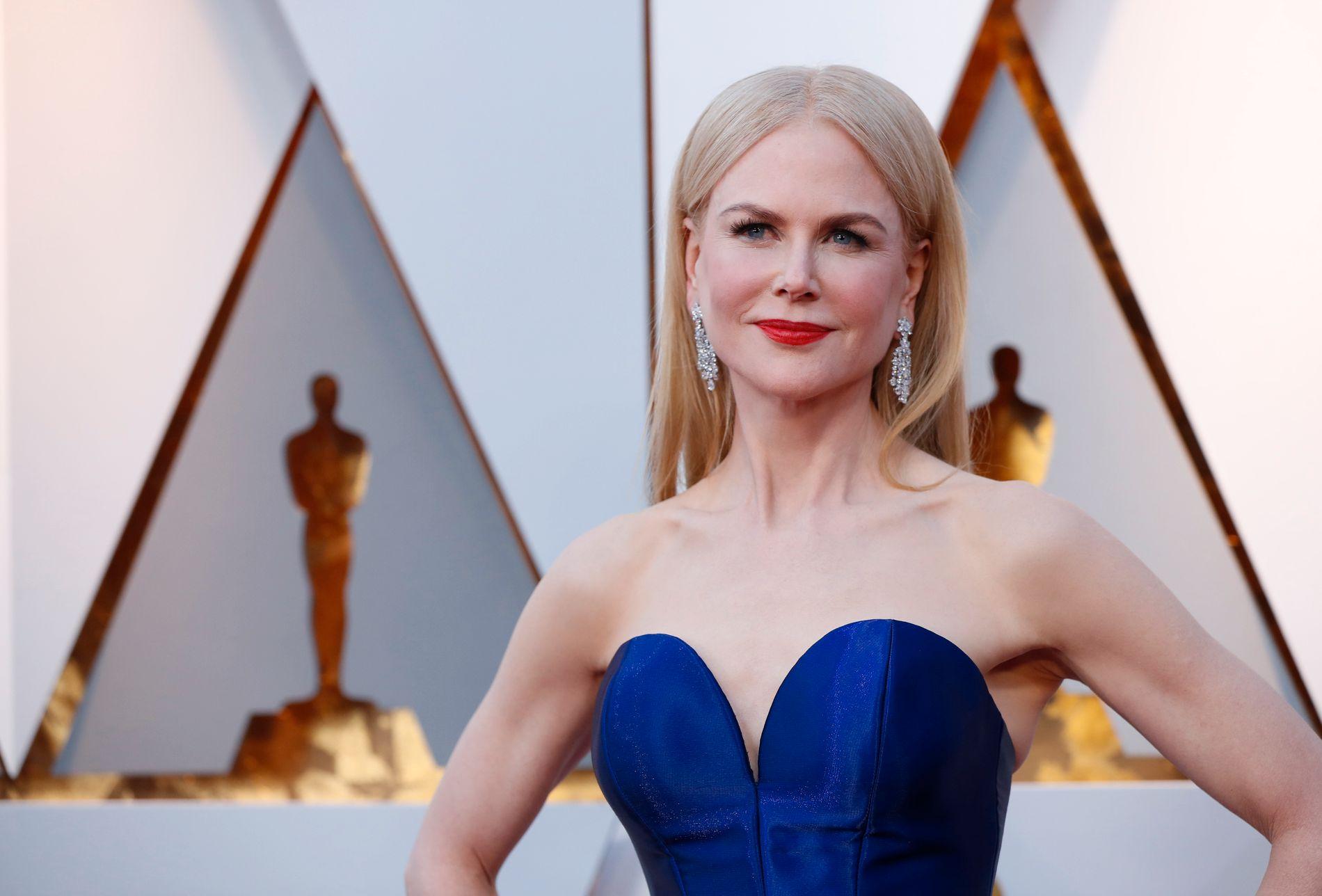 ÅPEN: Nicole Kidman, her på Oscar-utdelingen tidligere i år.