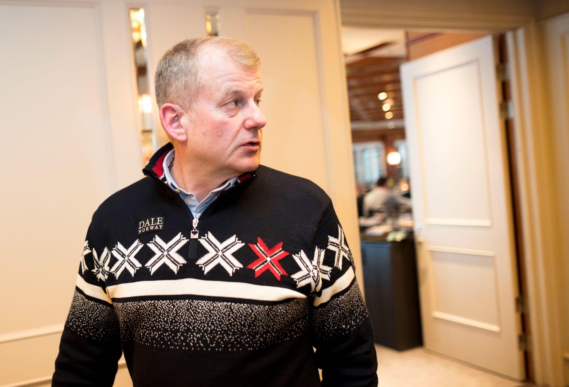 Erik Røste blir etter all sannsynlighet gjenvalgt som skipresident i helgen.