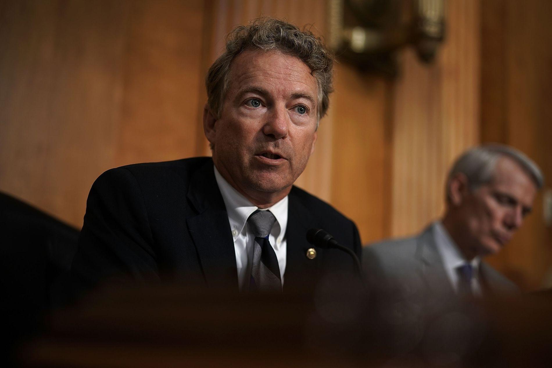 MULIG LØSNING?: Den republikanske senatoren Rand Paul.