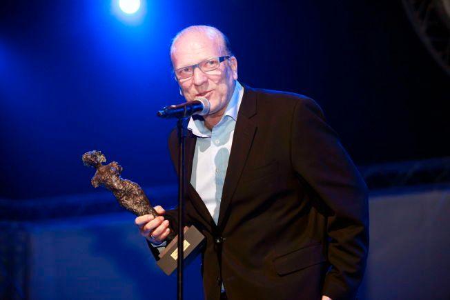 VINNER: Ingar Helge Gimle vant Hedda-prisen i 2013. Han har også vunnet Amanda- og Komiprisen.