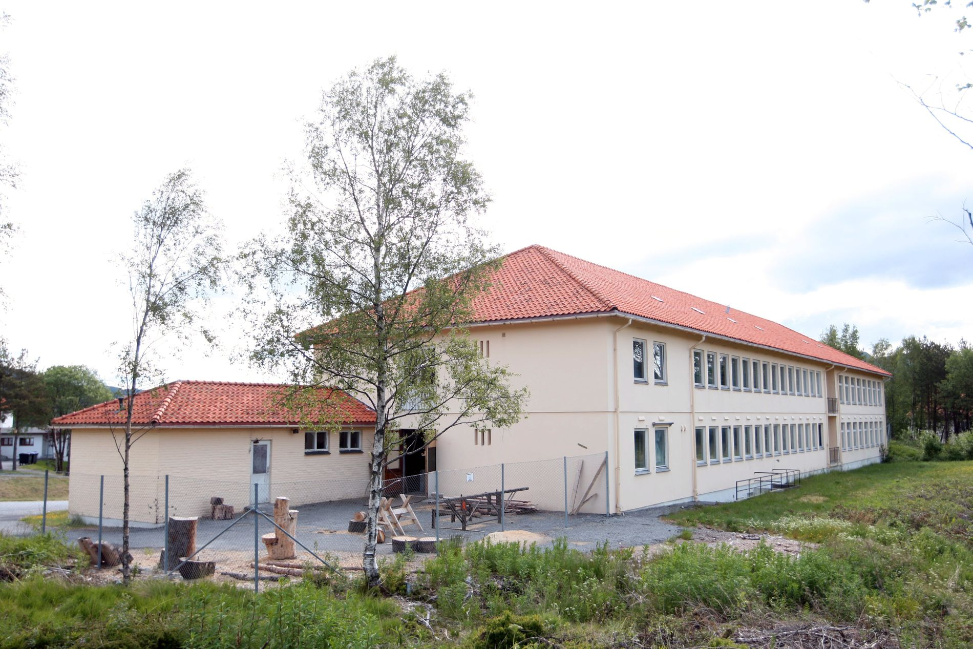 UNGDOMSAVDELING: Her er lokalene til den spesialdesignede fengselsavdelingen for barn og ungdom ved Bjørgvin Fengsel.
