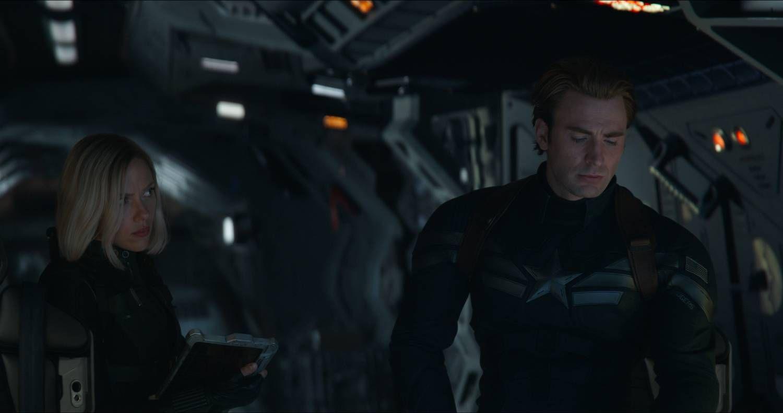 FINALEFILM: «Avengers: Endgame», her en scene med Scarlett Johansson og Chris Evans.