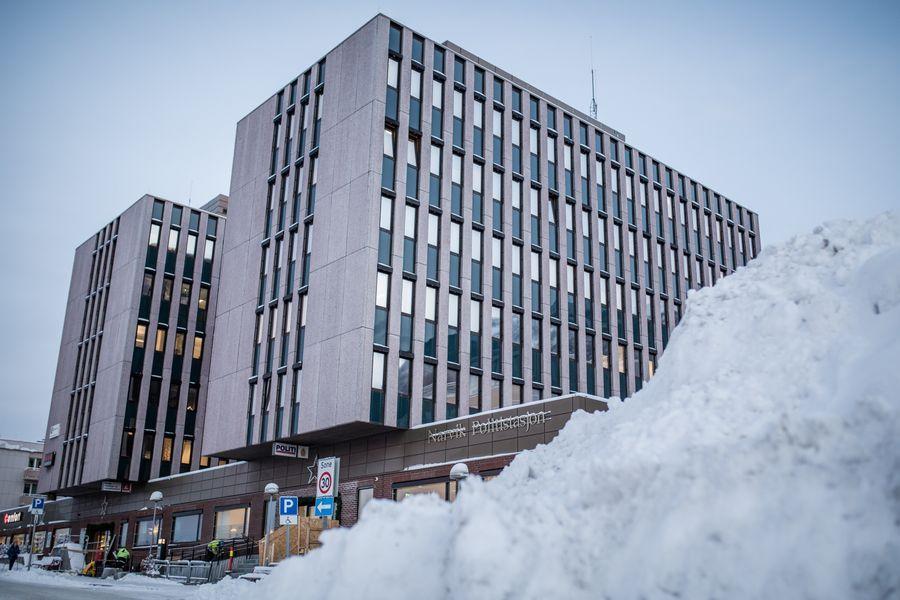ETTERFORSKES HER: Politiet ved Narvik politistasjon etterforsker saken mot mannen i 60-årene fra Ofoten.