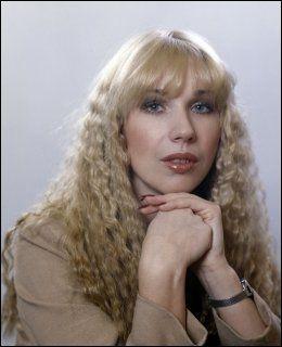 KJENT FOR SIN FRISYRE: «Alex» fikk mye oppmerksomhet for sitt hår. Her er hun portrettert i 1980. Foto: NTB Scanpix