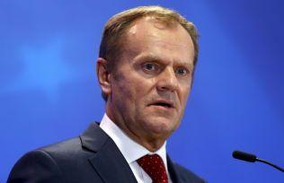 FLYKTNING-SKEPSIS: EU-president Donald Franciszek Tusk er tidligere polsk statsminister.