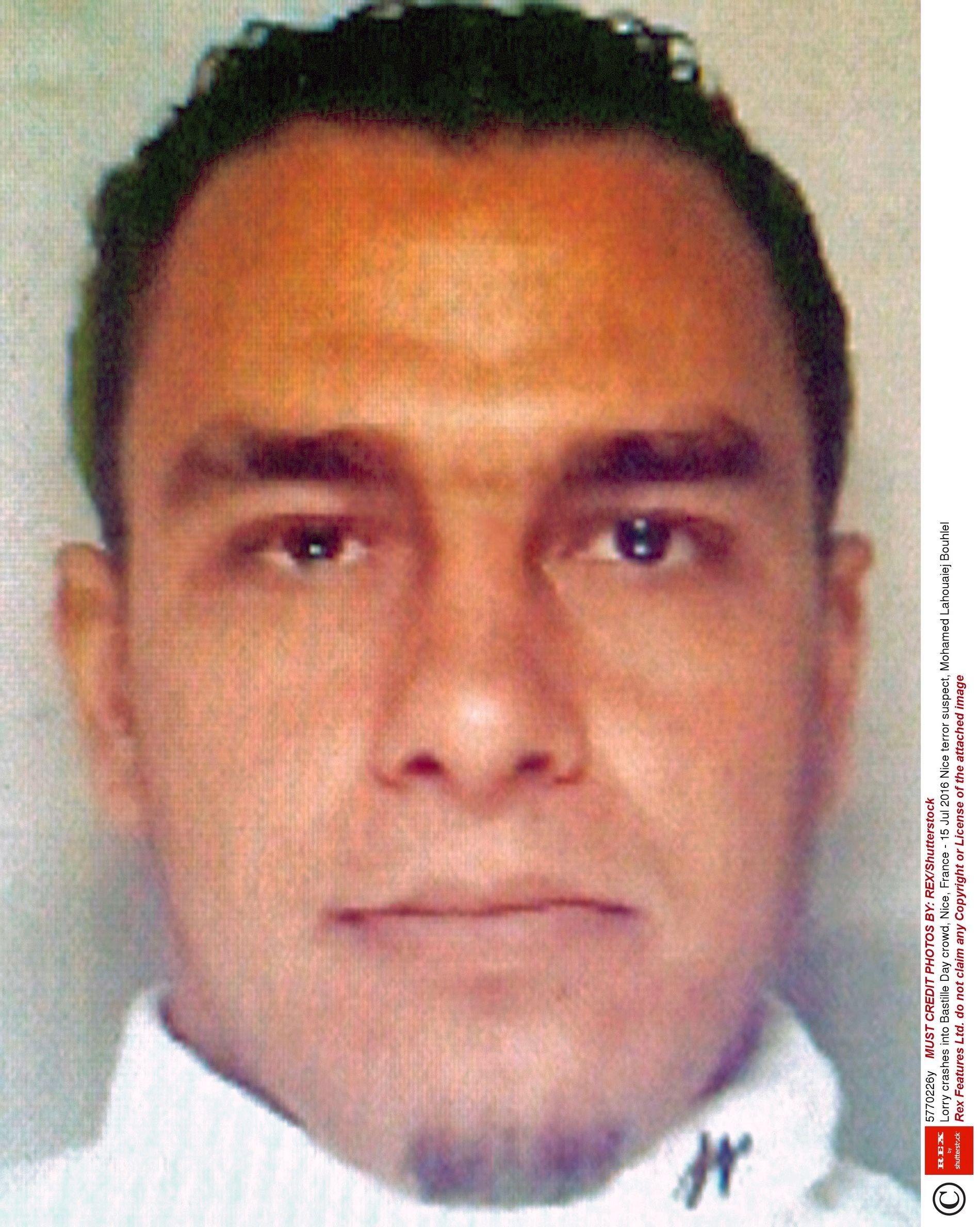 KRIMINELL BAKGRUNN: Mohamed Lahouaiej Bouhlel, mannen som utførte terrorangrepet i Nice i sommer, var kjent for fransk politi fra før for saker som involverte narkotika, vold og våpen.