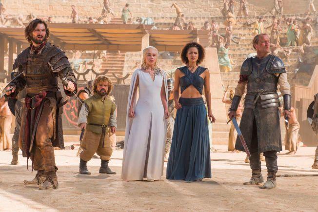 NOMINERT: «Game of Thrones» gjør vanligvis rent bord under Emmy-utdelingene. Under årets Golden Globe-utdeling er de imidlertid kun nominert til en pris: «Beste TV-serie».