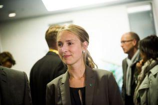 GIR REGJERINGEN FLERTALL: Venstres Iselin Nybø.