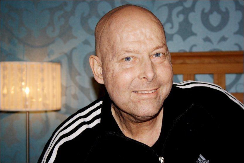 ISOLERT SEG: Karl Erik Bøhn har isolert seg fra omverden for å mobilisere alle krefter for å kjempe mot døden. Foto: Privat