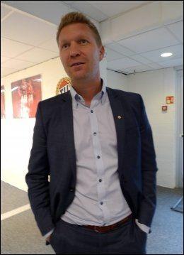 PENGER I KASSA: For Tromsøs administrerende direktør Vegard Berg-Johansen. Foto: Ole Kristian Strøm, VG