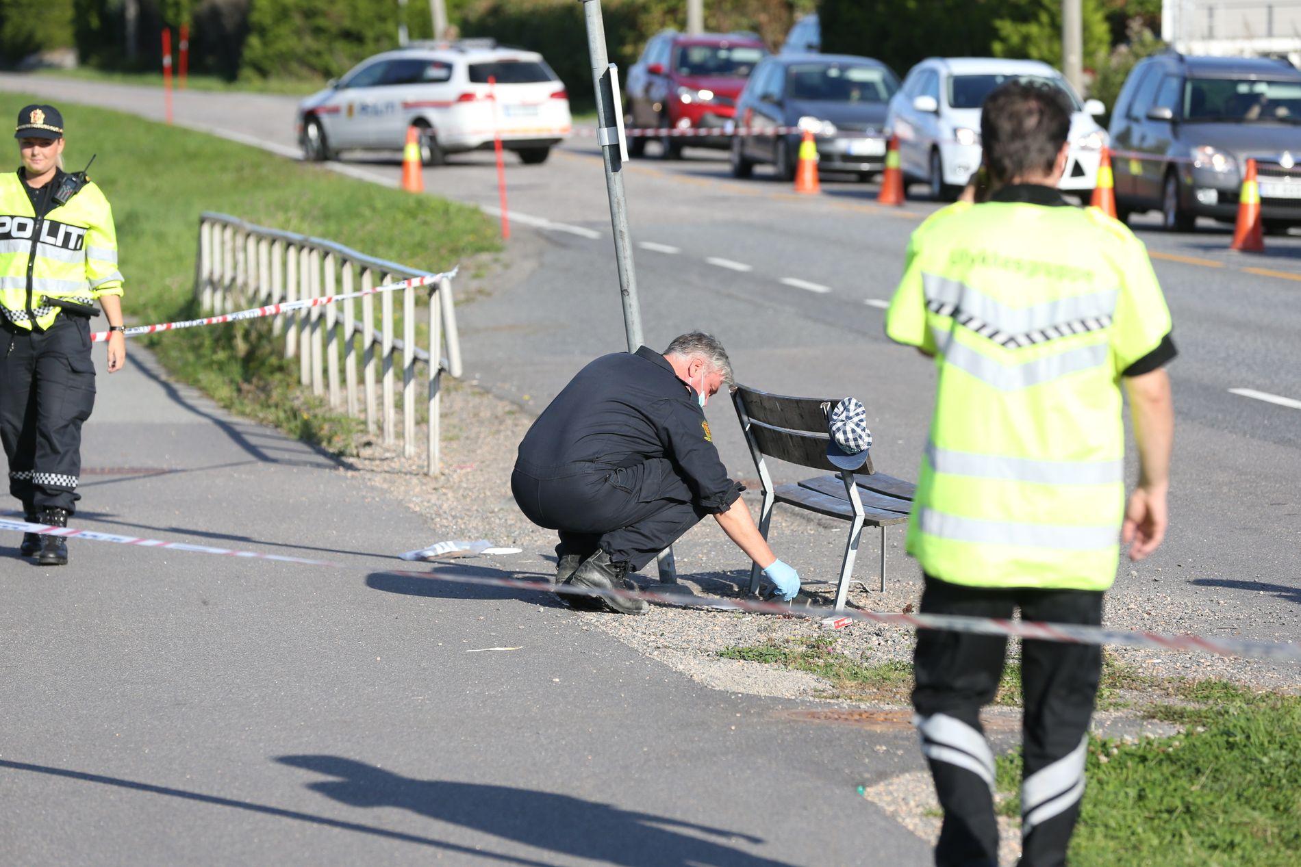 ULYKKE: Personen som kjørte bilen som traff seksåringen, forsvant fra ulykkesstedet mandag ettermiddag.