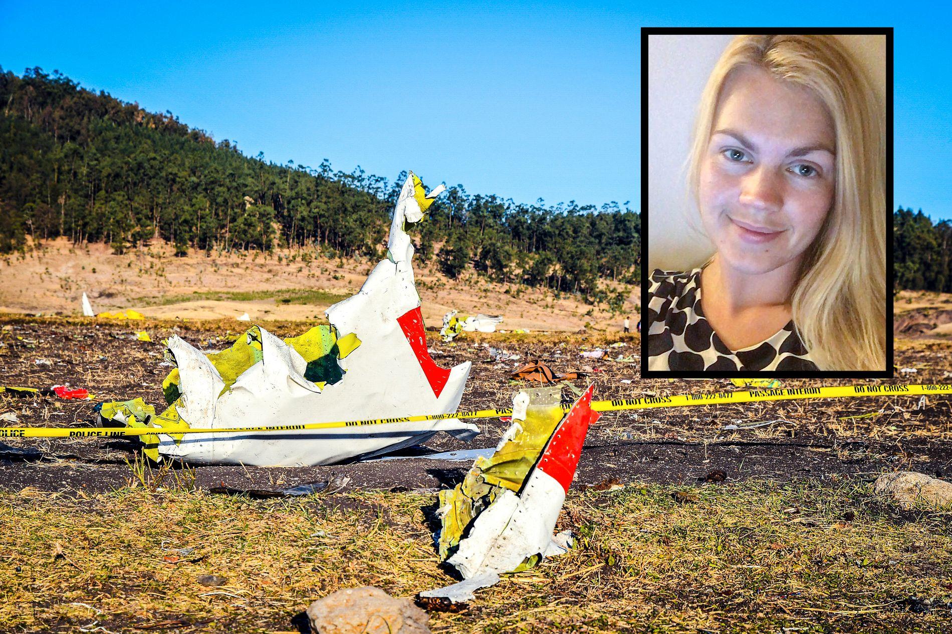 SAVNET:  Karoline Aadland (28) jobbet som økonomimedarbeider i internasjonal avdeling i Røde Kors.