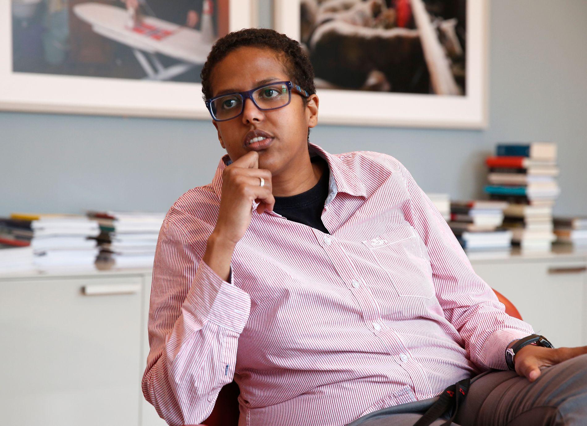 BARSKT DEBATTKLIMA: – Flere og flere av oss vurderer en stund før vi ytrer oss, skriver Amal Aden.