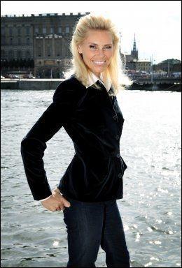 HOLLYWOODFRUE: Anna Anka er kjent for å være frittalende Foto: Aftonbladet