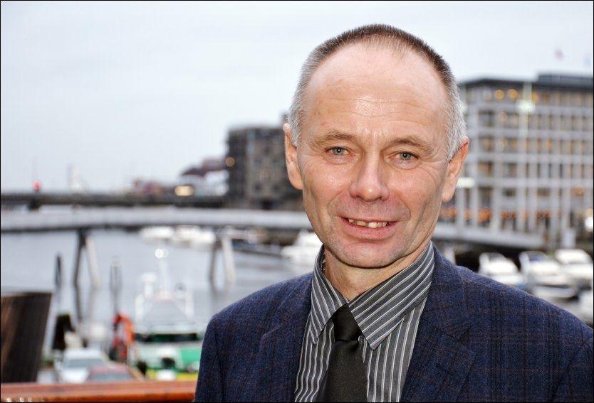 NY LEDER: Kjell Ingebrigtsen vant valget. Foto: NTB scanpix