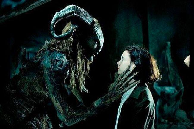 FABEL: Ofelia møter Pan i «Pans labyrint».
