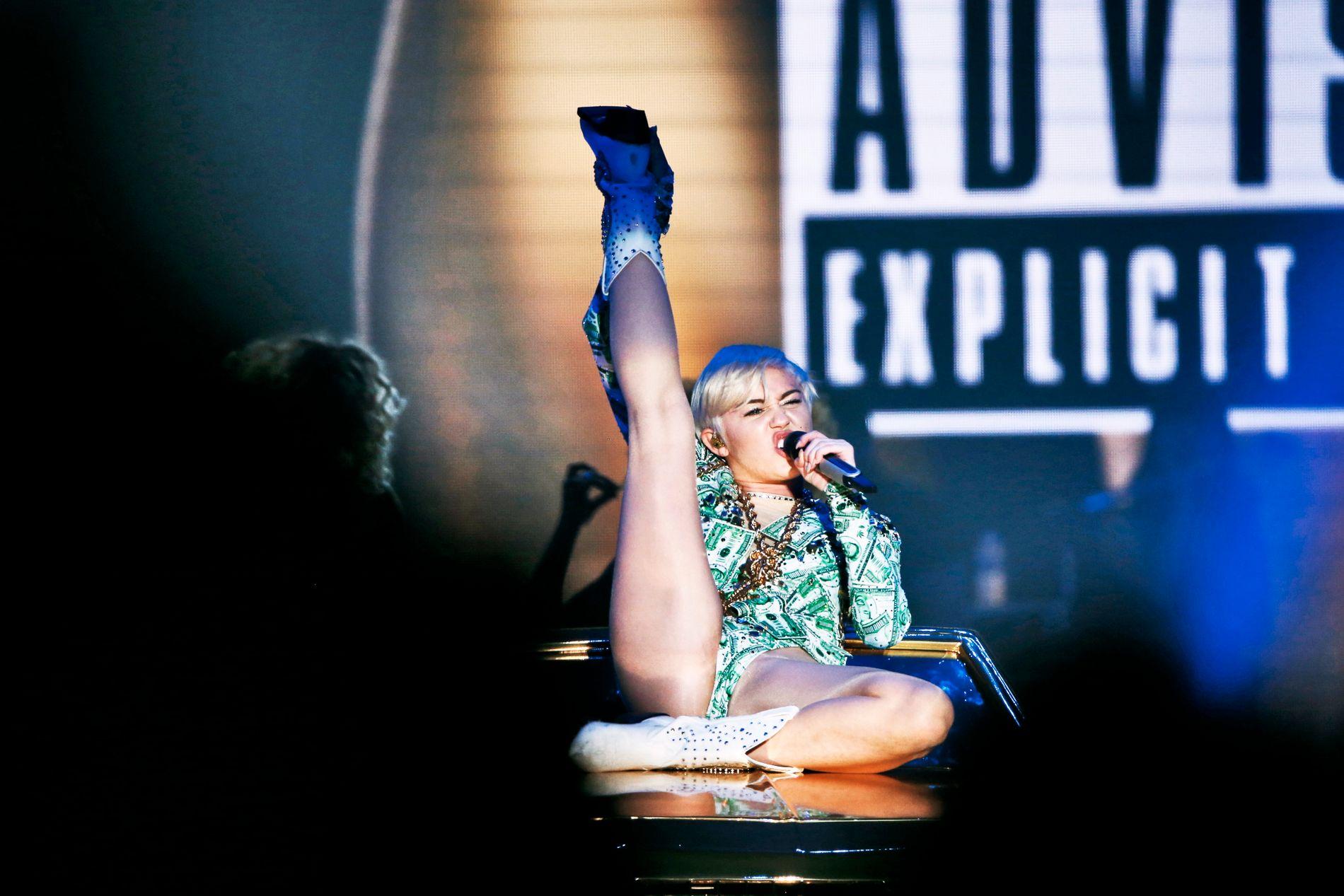 I NORGE: Fra konserten i Telenor Arena i 2015.