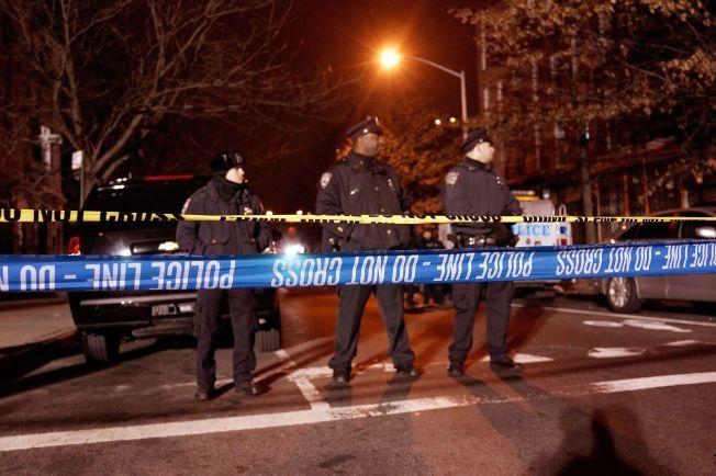 SKUTT OG DREPT: New York er rystet etter drapene. Sist gang en politimann ble drept i New  York, var i 2011.