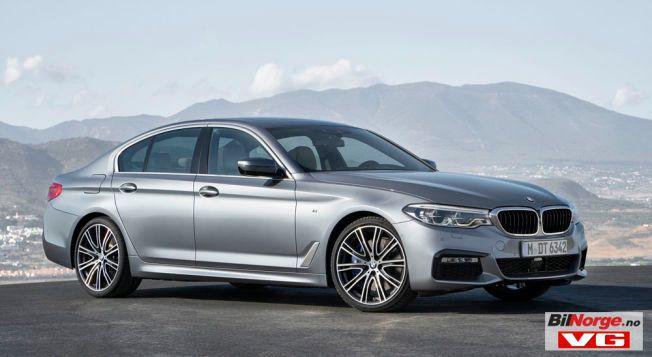 NY, MEN VELKJENT: Ingen er i tvil om at dette er en BMW 5-serie, men den er helt ny fra innerst til ytterst.
