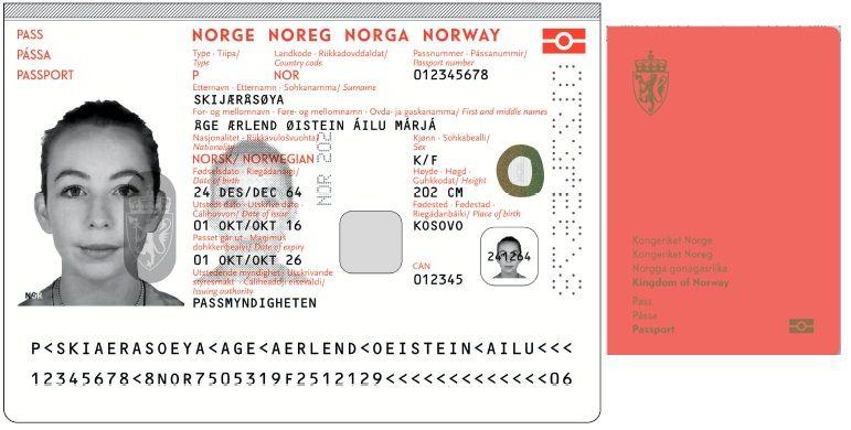 FØRSTE GANG: For første gang blir den endelige versjonen av de norske passene vist frem. Designet «Det norske landskap» fra Neue Design Studio vant den store konkurransen for ID-kort og nye pass i 2014.