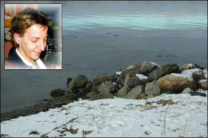 DREPT: Torbjørn Jevne ble 33 år gammel drept av en psykisk syk venn, som kastet ham overbord fra en fiskebåt, 150 meter fra land. Foto: BA og Privat
