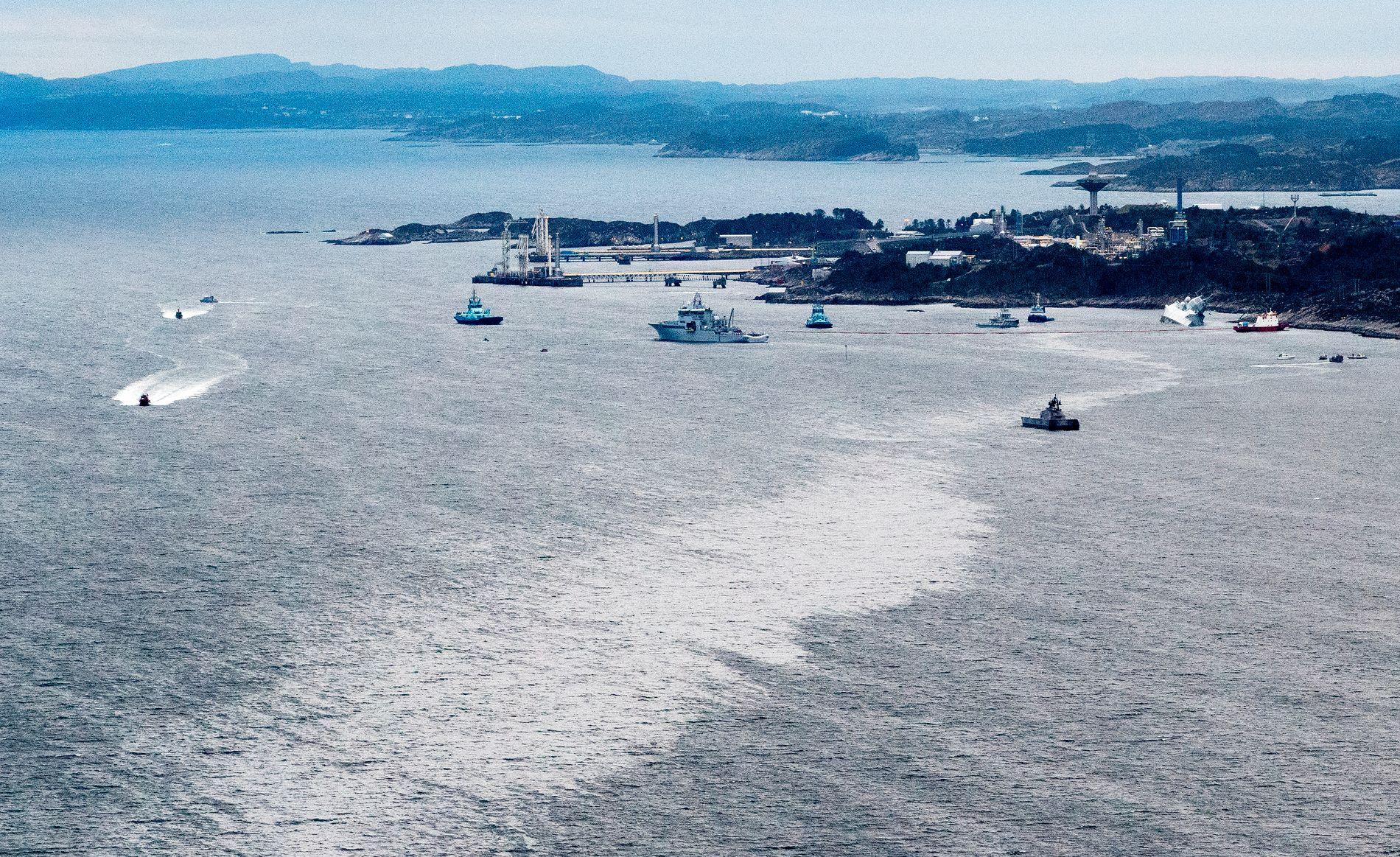 AVVISER: Advokaten som representerer tankskipsrederiet og deres assuranseselskap mener at fregatten KNM «Helge Ingstad» har all skyld i skipskollisjonen.