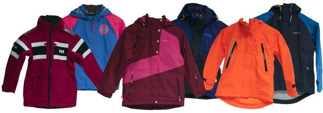 0fd689c5 UNDERSØKT: Disse jakkene inneholder ifølge Forbrukerrådets undersøkelse  helseskadelige stoffer. Foto:FORBRUKERRÅDET,