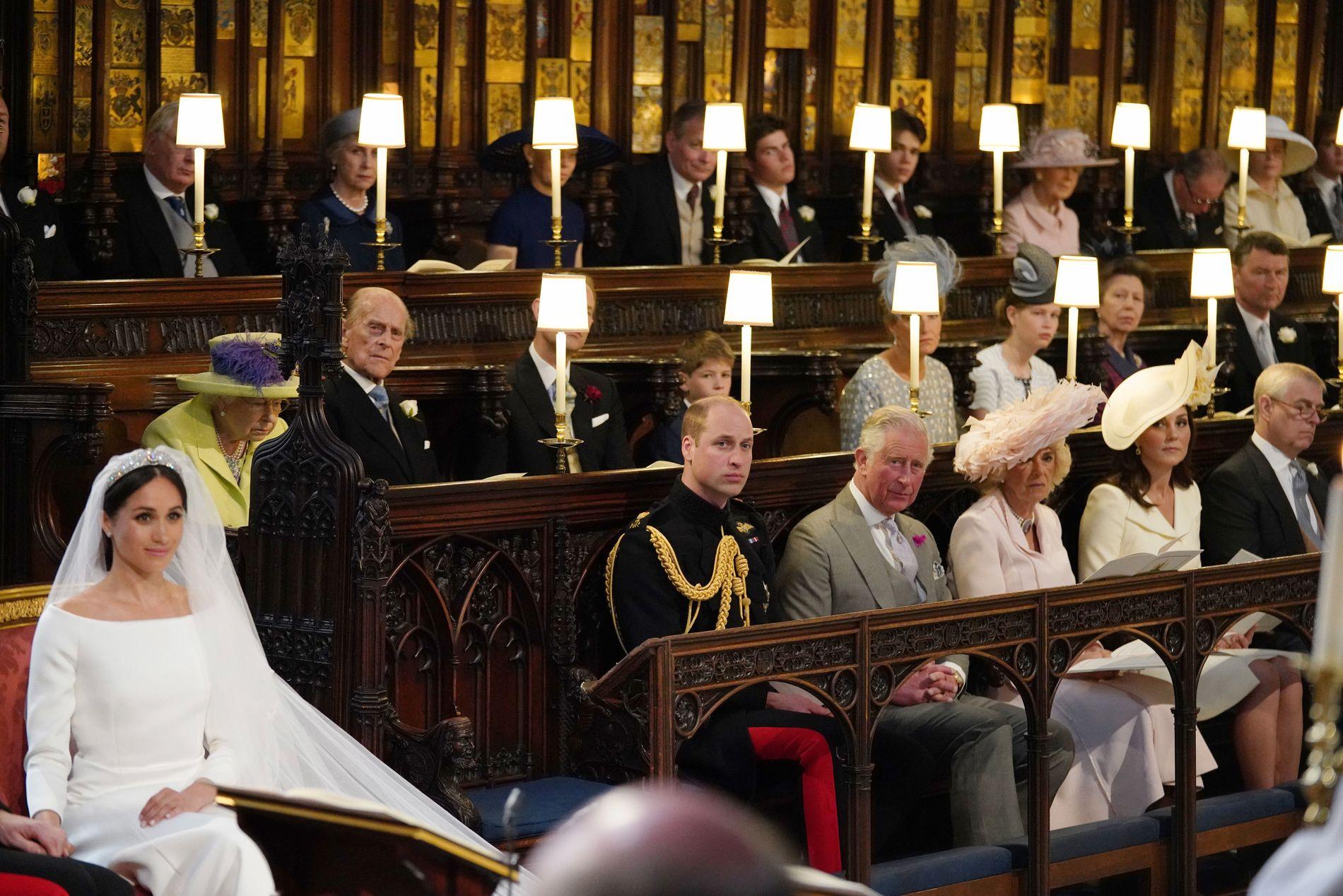 TOMT SETE:  En ledig plass ved siden av prins Willliam har ført til store spekulasjoner i britiske medier.