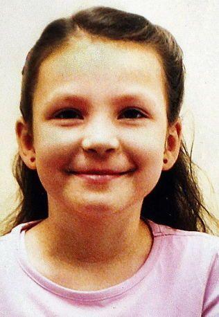 UNG JENTE: Monika Sviglinskaja (8) ble funnet død hjemme i leiligheten på Sotra under mystiske omstendigheter for tre år siden. Foto: PRIVAT