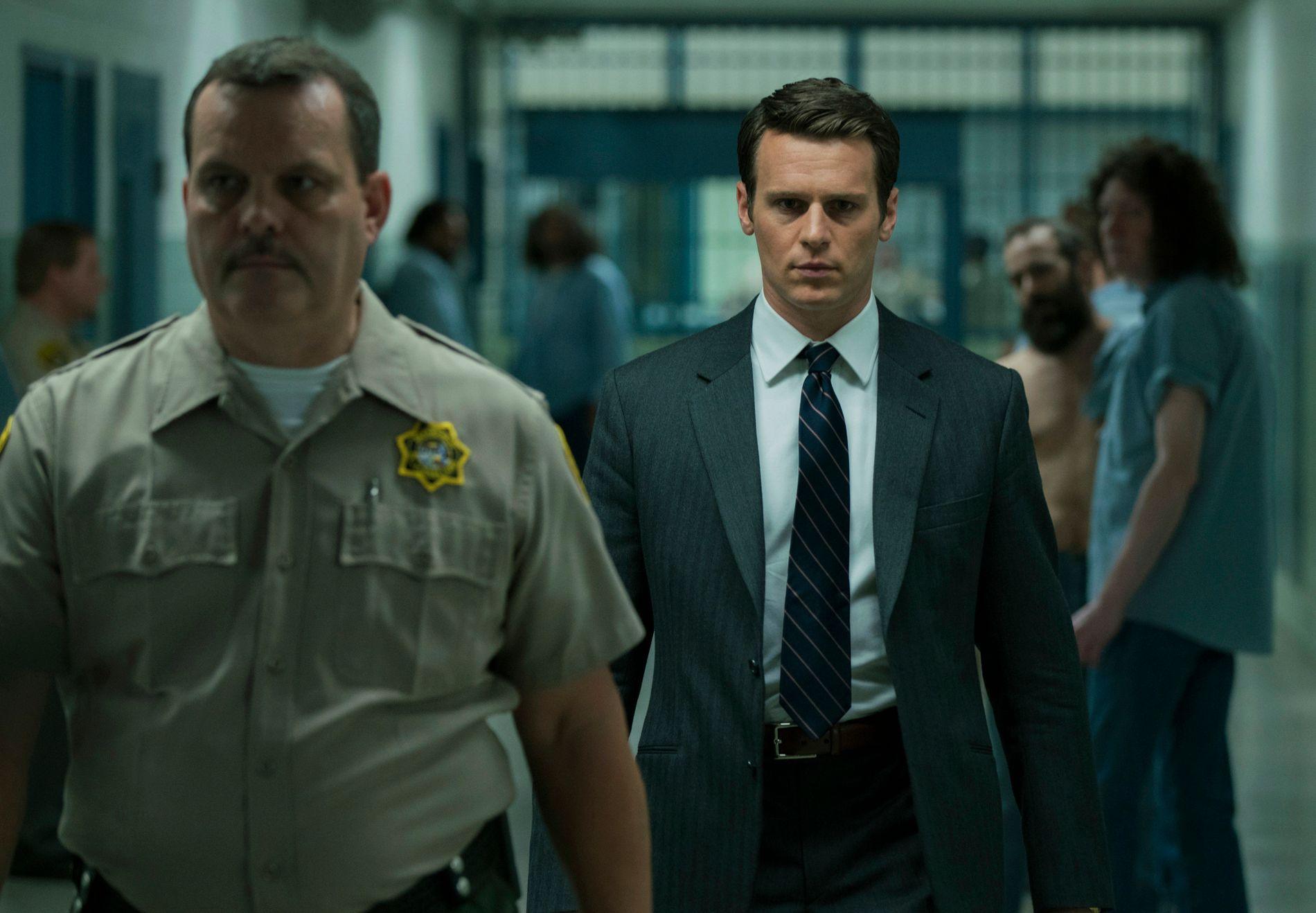 MINDHUNTER: Serien er basert på memoarene til en av foregangsmennene i den kriminelle atferdspsykologien.
