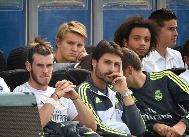 EN AV GUTTA: Det har blitt mest benkesliting og spill på 2. laget i Martin Ødegaards første år som Real Madrid-spiller. Her er han fotografert under privatkampen mot Vålerenga i fjor sommer.
