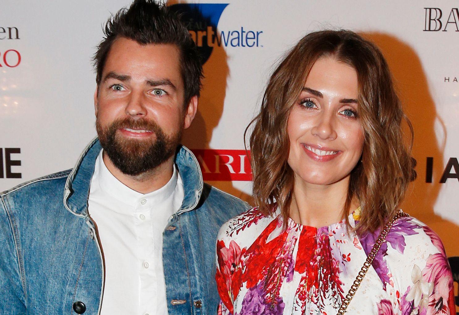 PAR: Tone Damli og Markus Foss på Costume Awards på nyåret.