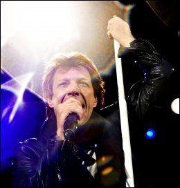 I SITT ESS: Bon Jovi spilte sin første konsert i Norge på 15 år i 2008, på Ullevaal stadion. De gjentok bedriften i 2011. Foto: MARTE VIKE ARNESEN