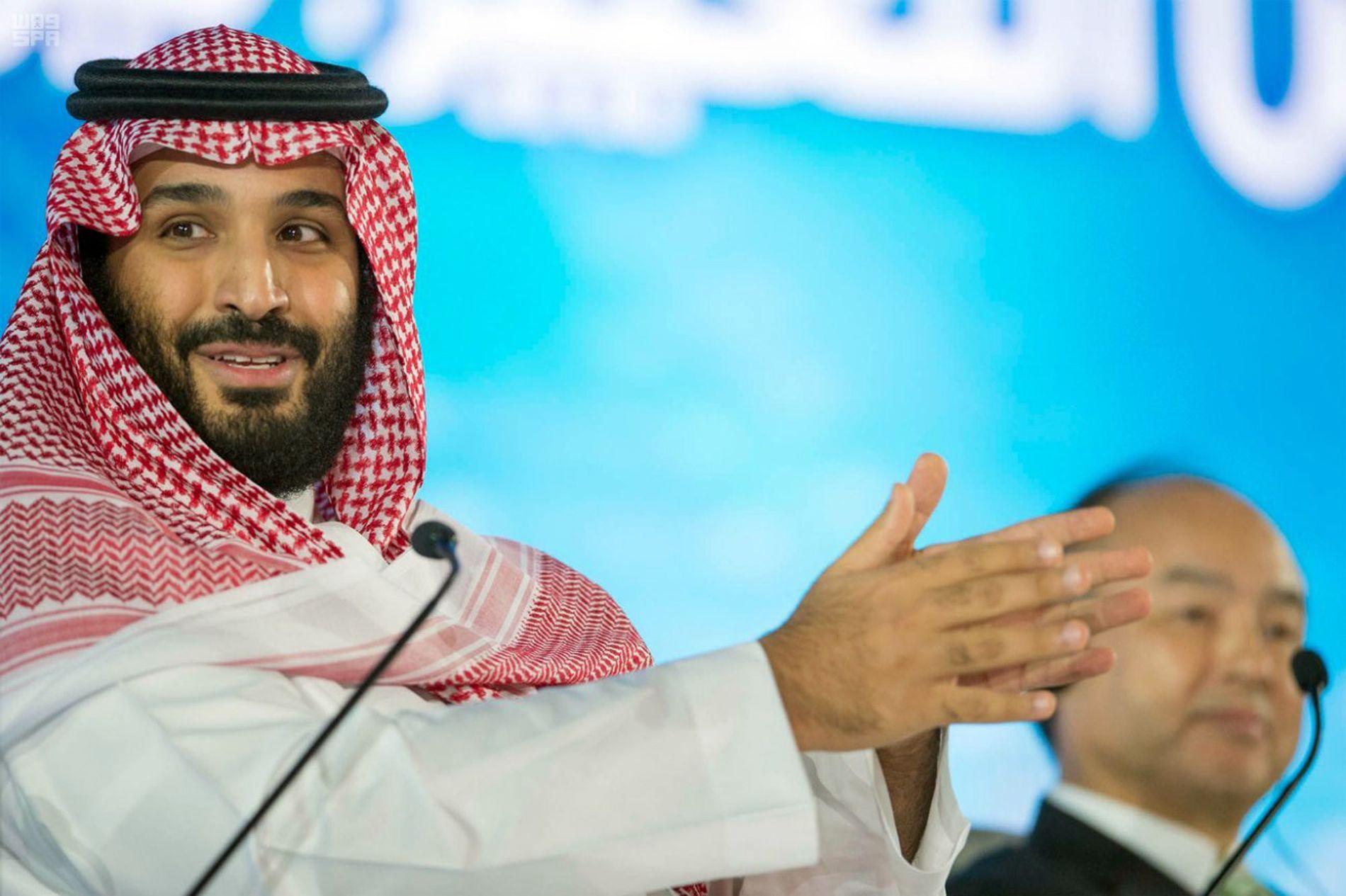 KAOS-PRINSEN: Mohammed bin Salman, Saudi-Arabias kronprins og egentlige politisk arkitekt, rensker ut i rekordfart.